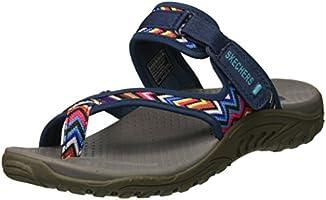 Skechers Women's Reggae-Zig Swag Flip-Flop Sandals