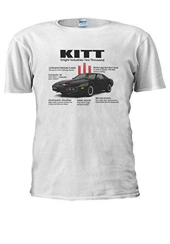 Knightrider KITT 1982 Pontiac Trans Am 80s Tv 70s Men Women Unisex Top T Shirt | Amazon.com