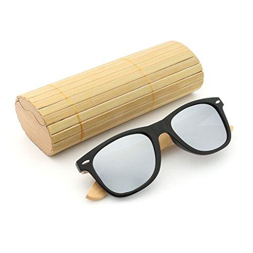 TP Cadre Wood 3 de Couleur 4 Lunettes Gloss Soleil Motif Grain polariséesTwo Bois Tone Effet Miroir rBrUPqC1w