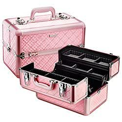 Amazon.com: Sephora collectionembossed traincase, color rosa ...