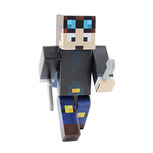 Dan – 4″ Action Figure Toy | Mine V2 | Plastic Craft