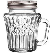 Kilner Mini Handled Drinking Jar 110ml Vintage - The Kilner Vintage Mini Handled Jar is perfect for parties, weddings and gifts.