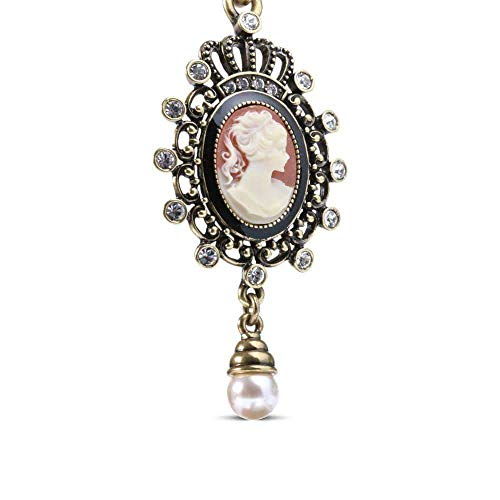 Antique Cameo Keychain ()