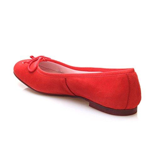 BISUE BAILARINA ANTE Mujer Rojo