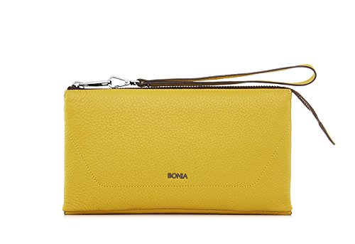 bonia-womans-yellow-exquisite-pouch