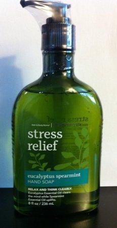 8 onces (236 ml) de savon de bain & corps œuvres aromathérapie Eucalyptus menthe verte Stress Relief main originale