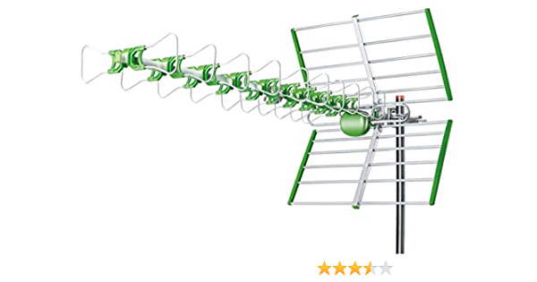 Antena exterior 4G LTE TV DVB-T UFH, impermeable