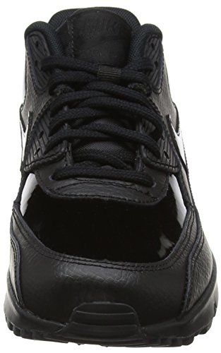 Nike Dame Wmns Air Max 90 Læder GymnastikSko Elfenbein (sort Sort Sort 002) EibuLpq8