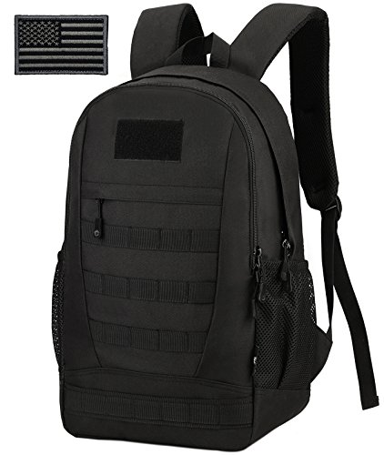All Black Backpack - 1