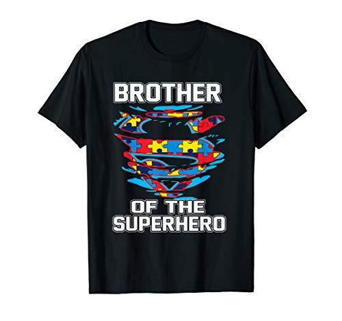 Super Brother Tshirt Autism Awareness Gift KIds Superhero