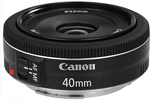 Canon EF 40mm f/2.8 STM - Objetivo para Canon (Distancia Focal ...
