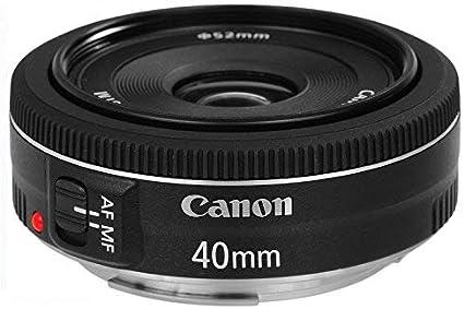 Canon Pancake Objektiv Ef 40mm F2 8 Stm Für Eos Kamera