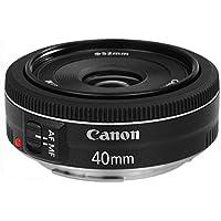 Canon Lens Ef40Mm F2.8 Stm Fotoğraf Makinesi, Full HD (1080p), Siyah, 2 Yıl Canon Eurasia Garantili