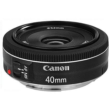 Canon 40mm f/2.8 STM EF Aspherical Prime Lens for Canon DSLR Camera Lenses