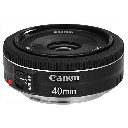 Canon EF 40 mm f/2.8 STM Lens - Black