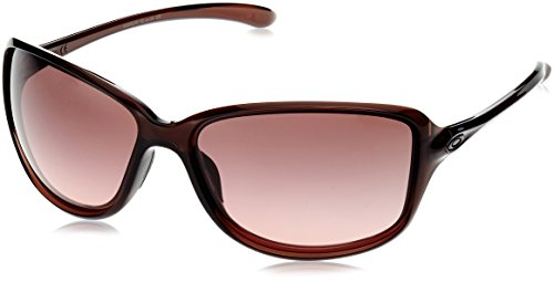 Oakley Women's OO9301 Cohort Rectangular Sunglasses, Amythest/G40 Black Gradient, 62 mm