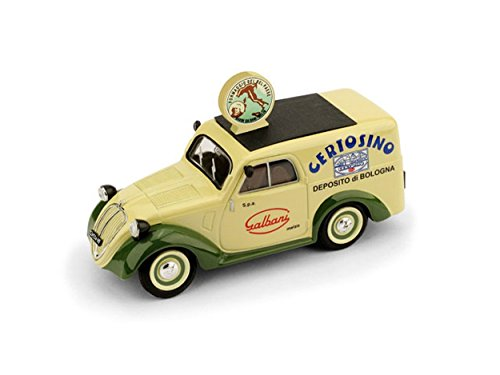 brumm-bm0554-fiat-500b-furgone-1950-galbani-143-modellino-die-cast-model