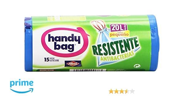 Handy Bag Bolsas para Basura con Autocierre, Cubo Pequeño ...