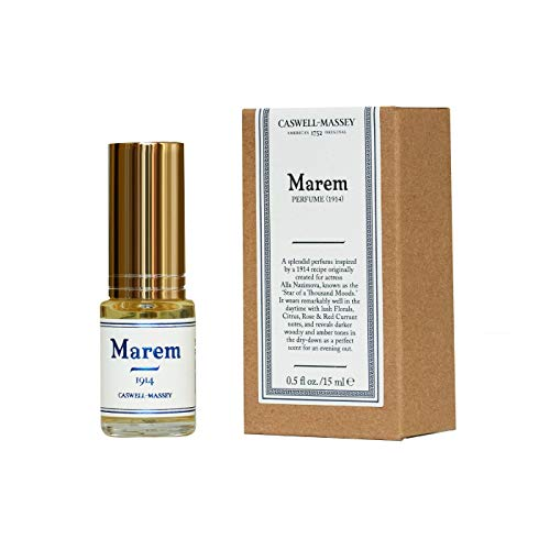 (Caswell-Massey Marem Womens Perfume – A Lush Floral Fragrance With Touches of Citrus and Amber – .5)