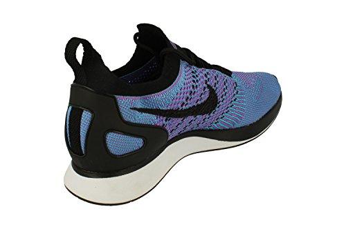 Nike Men's Air Zoom Mariah Flyknit Racer Gymnastics Shoes, Black Bright Violet/Black