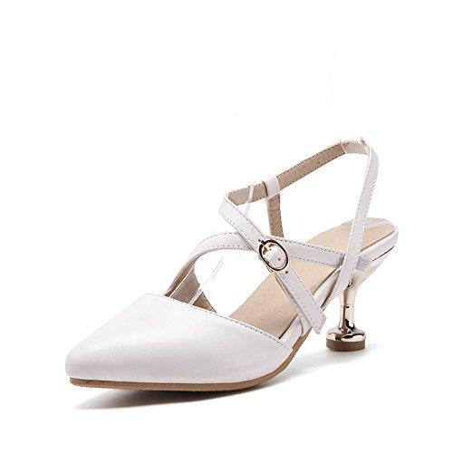 femenino sandalias white con verano primavera y de consejos gran el La cruz número CqAwvPv