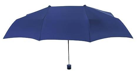 Paraguas Plegable para Dos Personas con protección Solar. Ideal para Llevar de Viaje y para