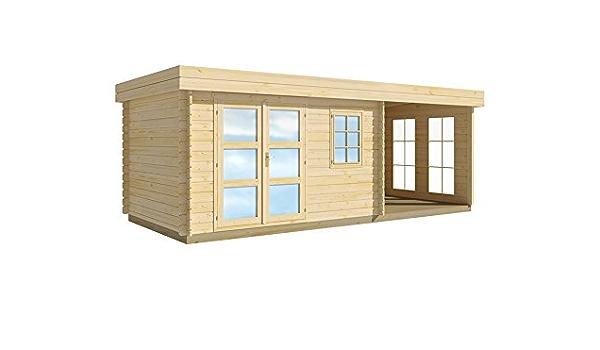 Lillevilla 283 Luoman Caseta de jardín, 28 mm, 8, 5 m², 340 x ...