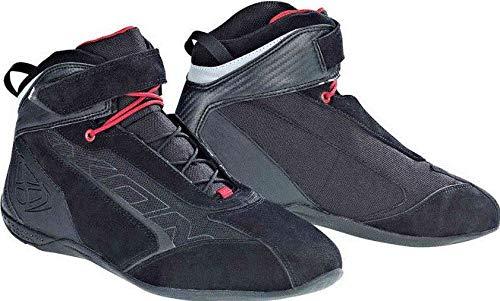 IXON イクソン Speeder WP Motorcycle Boots ライディングブーツ ブラック/レッド 44 (約29cm) B07GRLW57Z  44 (約29cm)