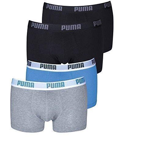 grau Bóxer Puma Schwarz Hombre 2p 200 2er 417 Shortboxer 2er Basic Blau qwtvwRCF