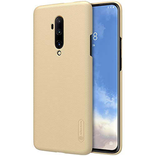 Nillkin Back Cover for OnePlus 7T Pro  Hard PC Gold