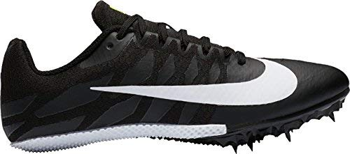 2ae9fc78af18c Nike Women s Zoom Rival S 9 Track Spike Black White Volt Size 9 M US