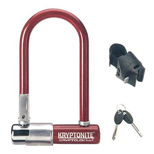 Kryptonite Mini Bicycle U Lock with Transit FlexFrame Bracket