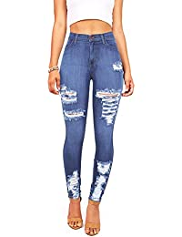 Black high waisted jeans vibrant m i u