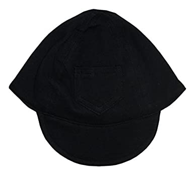8d68051c54fb6 Image Unavailable. Image not available for. Color  Bambini Baby Unisex  Black Interlock Solid Utility Pocket Baseball Cap