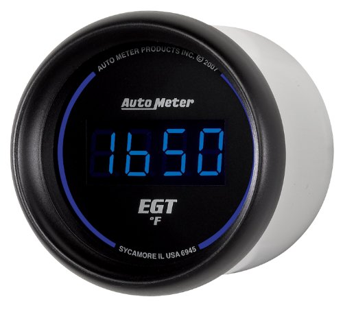 Auto Meter 6945 Cobalt Digital 2-1/16'' 0-2000 F Pyrometer E.G.T. (Exhaust Gas Temperature) by Auto Meter (Image #2)