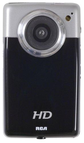 RCA EZ3100 High Definition Digital Camcorder with 2x Digital Zoom 2-Inch LCD Screen Black ()