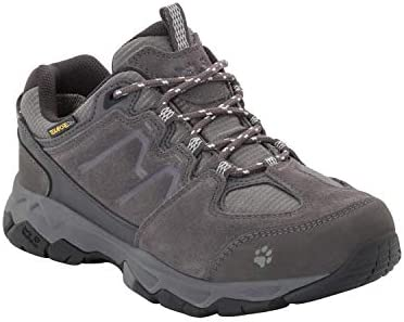 Jack Wolfskin Women s MTN Attack 6 Texapore Low Waterproof Hiking Shoe, Grey Haze, US Women s 7.5 D US
