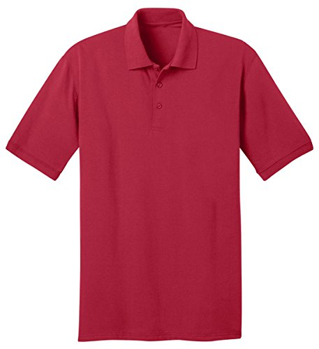 Port & Company Men's 55 Ounce Jersey Knit Pocket Polo 6XL -