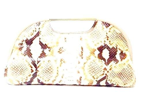 Anya Hindmarch Wyaltt Snakeskin Clutch Bag RRP £1,225.00