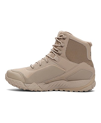 Under Armour Men's Valsetz RTS Military and Tactical Boot, (290)/Desert Sand, 14