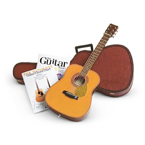 American Girl Musical Doll - American Girl Doll Guitar with Case and Books Set Truly Me