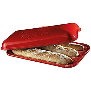 Amazon Com Superstone Covered Baker French Bread Pans