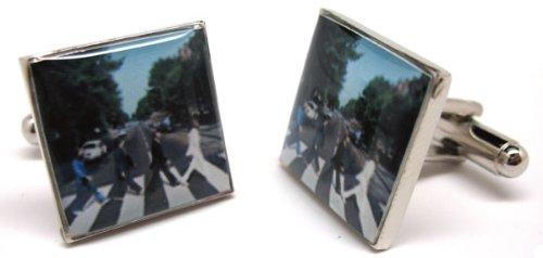 Abbey Road Album Cufflinks Cuff Links Music Rock and Roll