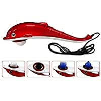 VD Dolphin Handheld Massager with Vibration, Magnetic, Far Infrared Therapy to Aid in Pain and Stress Relief