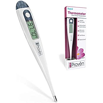 Basal Body Thermometer BBT-113Ai - Temperature Tracking for Waking Temps - for Trying to Conceive (TTC) Mothers - Natural Family Planning - Sensitive to ...