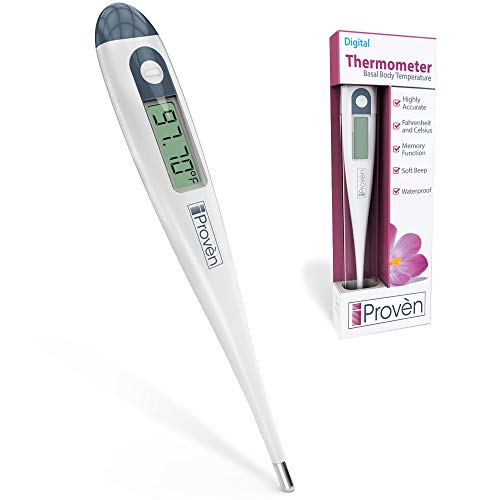 Basal Body Thermometer BBT-113Ai - Temperature Tracking for Waking Temps - For Trying to Conceive (TTC) Mothers - Natural Family Planning - Sensitive to 0.01 Degree - Best Accuracy