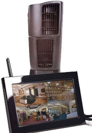 Zone Shield Oscillating Fan QUAD LCD - C1565