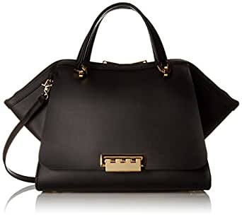 Amazon Com Zac Zac Posen Zp1515 001 Top Handle Bag Black