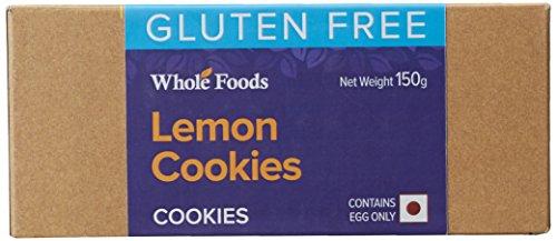 Whole Foods Gluten Free Lemon Cookies, 150g