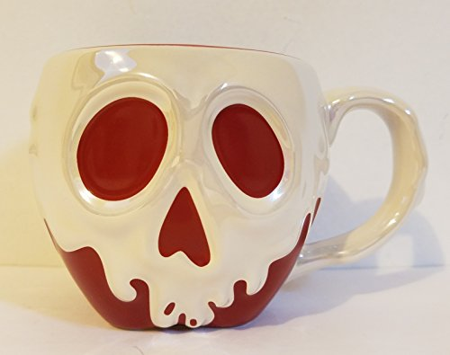 The Poisoned Apple (Disney Parks Snow White Evil Queen's Poison Apple Ceramic Mug Cup)